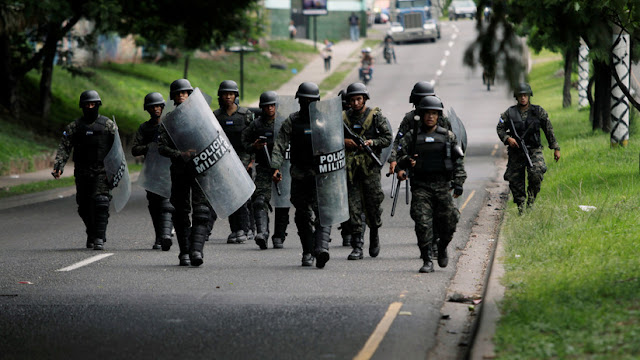El Gobierno de Honduras despliega fuerzas militares en todo el país ante protestas