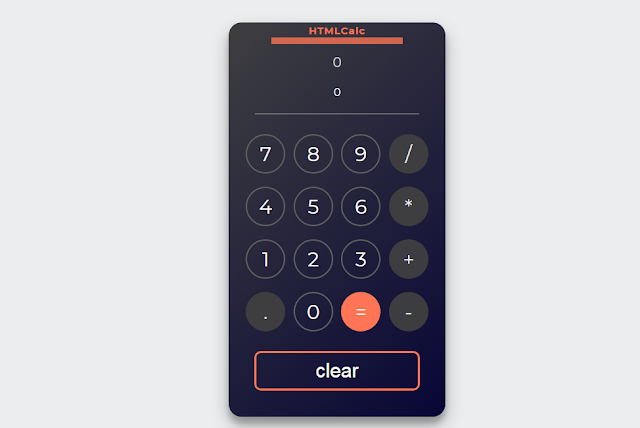 How to make a Calculator using HTML, CSS and JavaScript