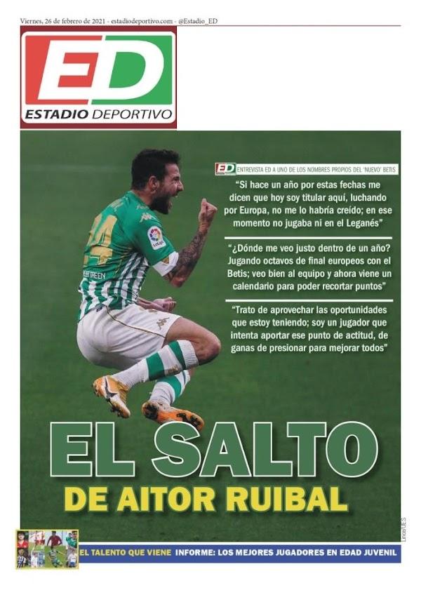 """Betis, Estadio Deportivo: """"El salto de Aitor Ruibal"""""""