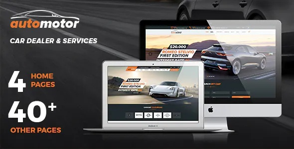 Best Car Dealer & Services Template