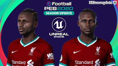 PES 2020 Faces Sadio Mane by Davidjm08