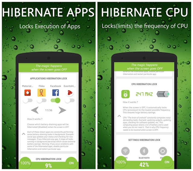Hibernate FULL Real Battery Saver Apk