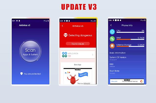 Antivirus  + Booster + Cleaner ---update v3--- - 2