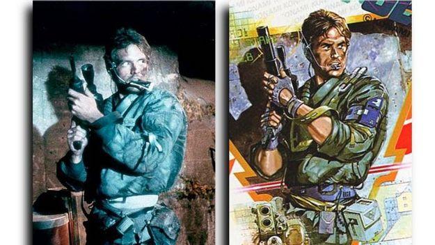 Metal Gear - Terminator comparison