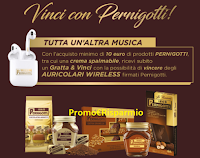 Logo Pernigotti ''Back to School'' : vinci 2.000 Auricolari Wireless