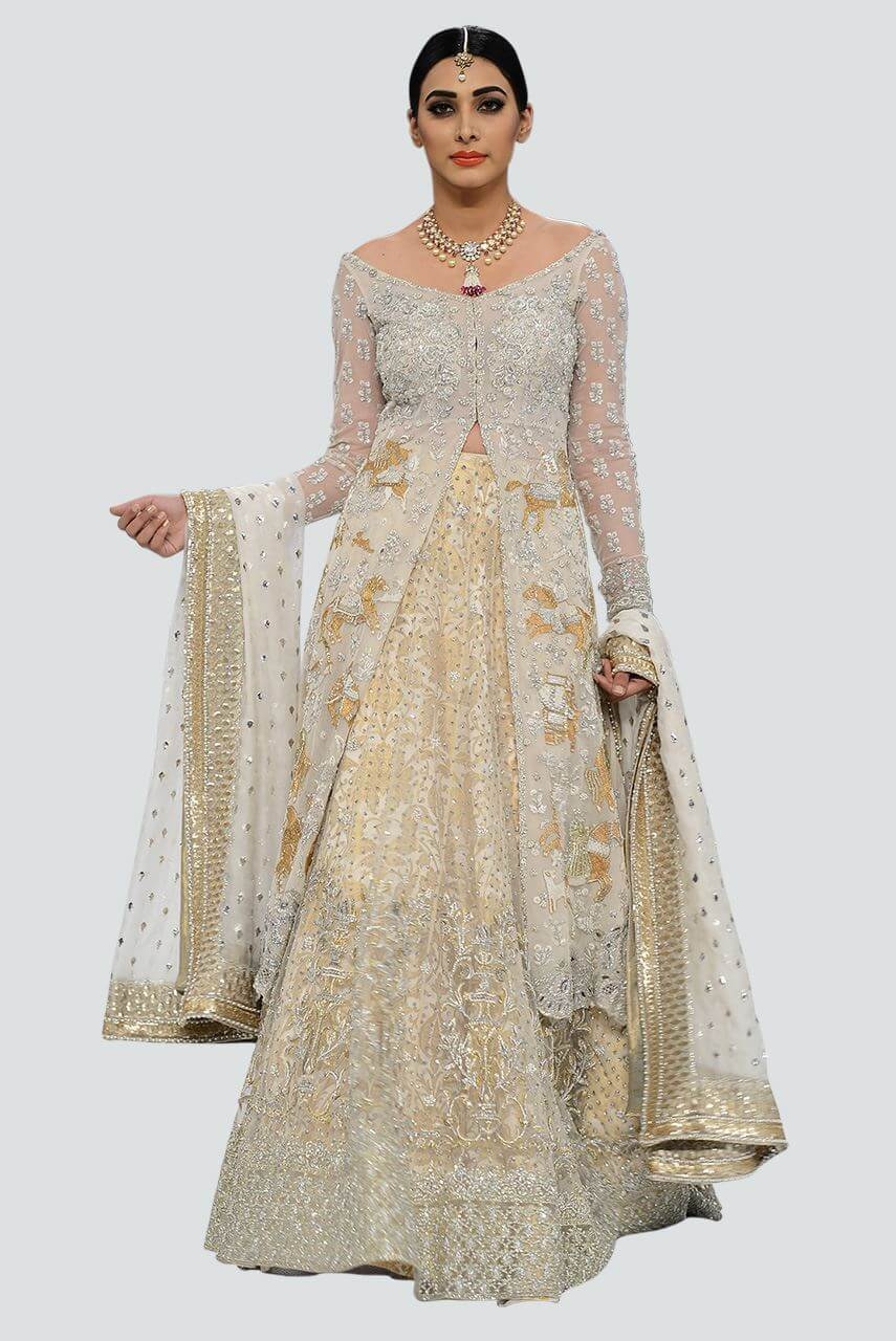 Sania Maskatiya Walima Dress