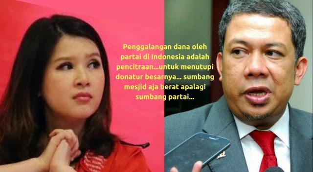 Fahri Hamzah: Penggalangan Dana Oleh Parpol di Indonesia Untuk Menutupi Donatur Besarnya