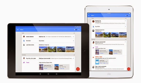 Inbox by Gmail now available for Android tablets, iPad, Chrome, Firefox and Safari