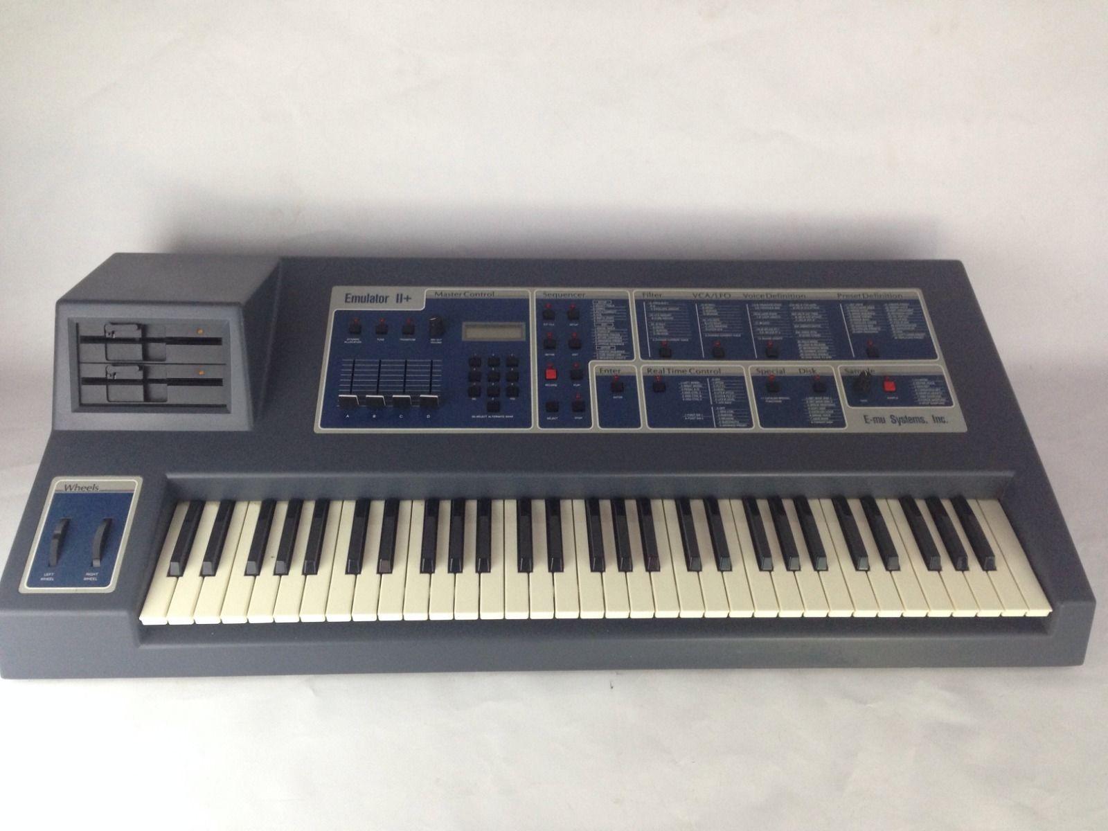 matrixsynth emu emulator ii analog synthesizer sampler drum machine sn 2695. Black Bedroom Furniture Sets. Home Design Ideas