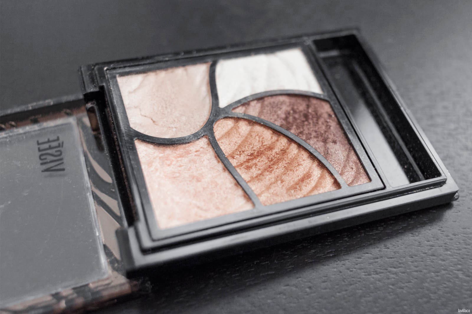 Project Make A Dent 2016 Kose Visee Glam Nude Eyeshadow Palette N-1 - End results