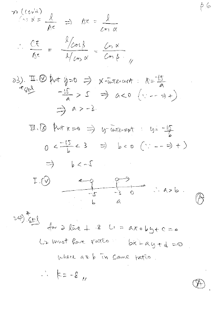 2019 DSE Math Paper 2 Detailed Solution 數學 卷二 答案 詳解 Q22,23,24