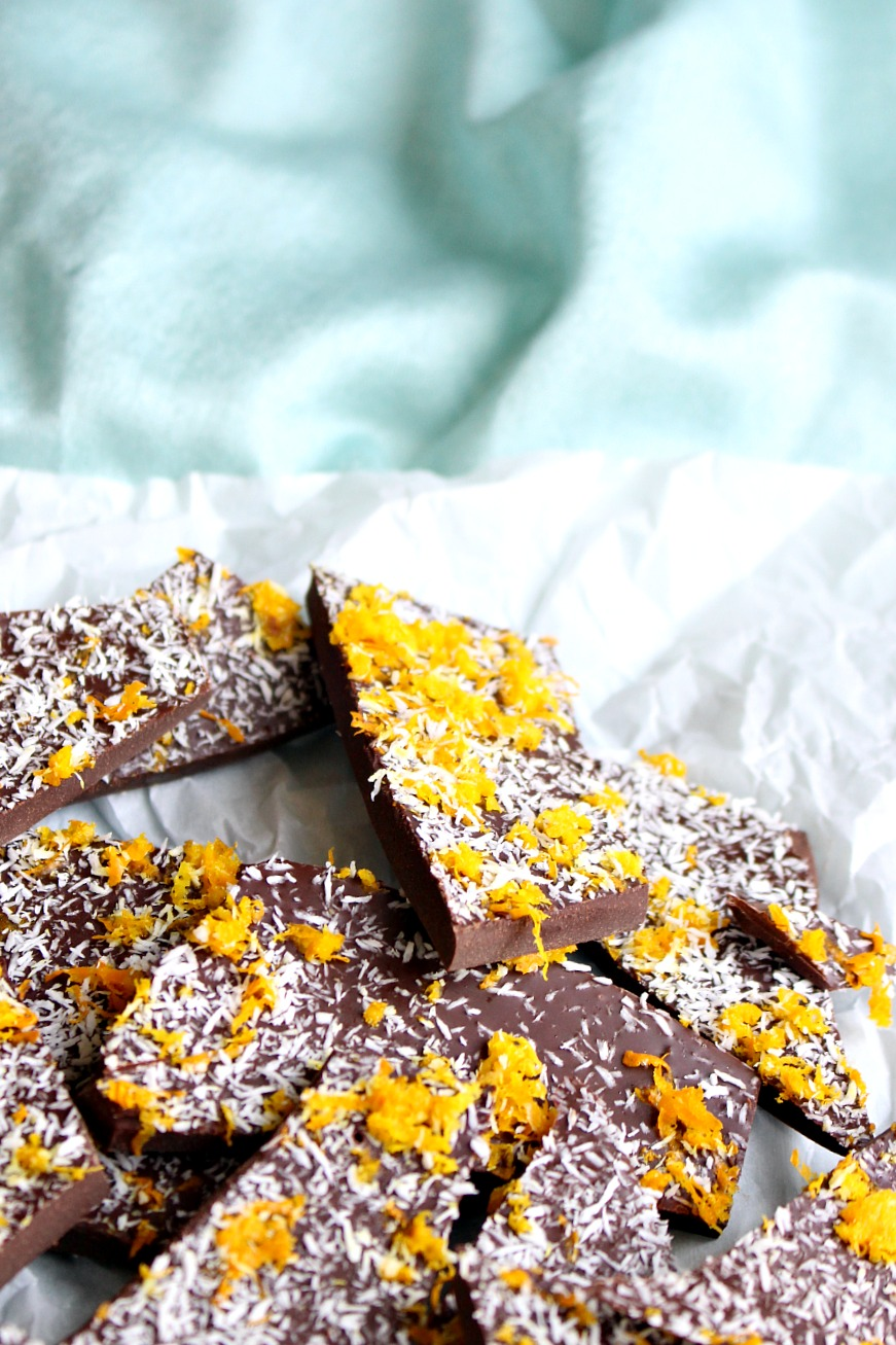Quick + Easy Chocolate Orange Bark Recipe