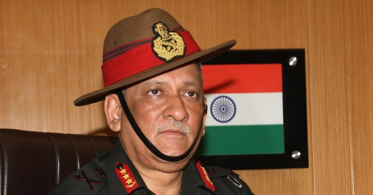 Indian Army Chief Again Hurls Threats Of Aggression Against Pakistan