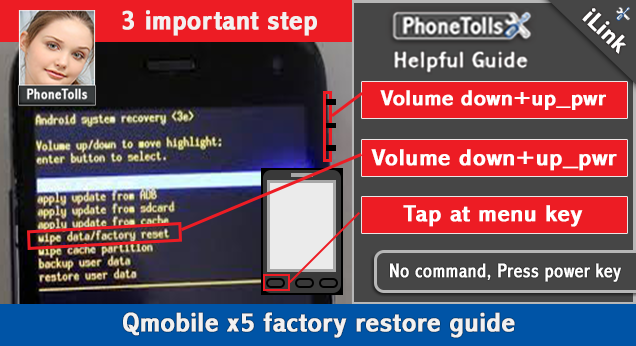 Qmobile x5 factory restore guide - Phonetolls