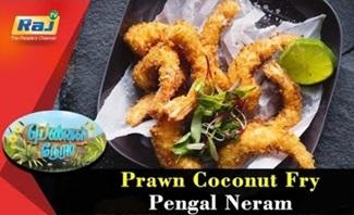 Prawn Coconut Fry | Food Segment | Pengal Neram | 29 August 2018 | Raj Tv