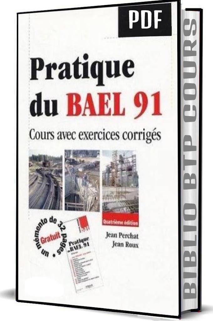 pratique du bael 91 cours avec exercices corrigés jean perchat jean roux pdf