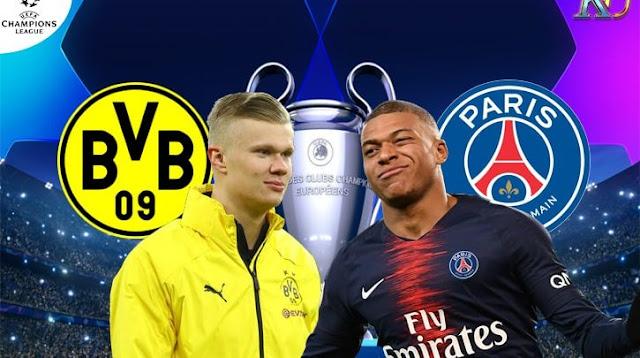 مشاهدة مباراة باريس سان جيرمان وبوروسيا دورتموند بث مباشر