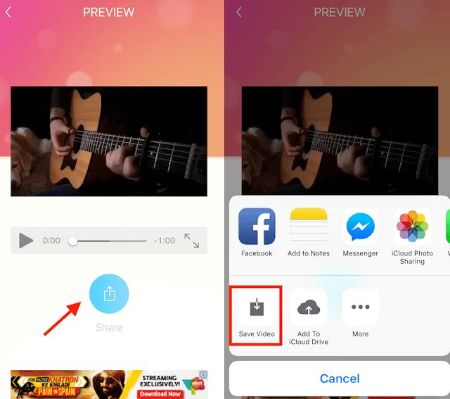 Begini Cara Berbagi Foto Instagram atau Video di Status WhatsApp 5