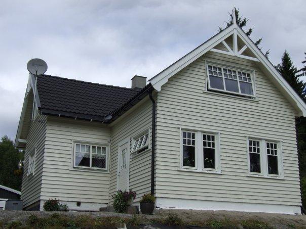 Male hus utvendig temperatur