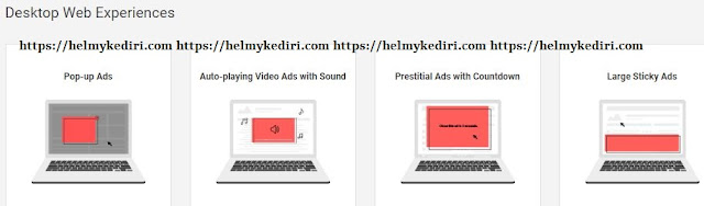 4 Jenis iklan yang akan diblokir oleh chrome diperangkat dekstop