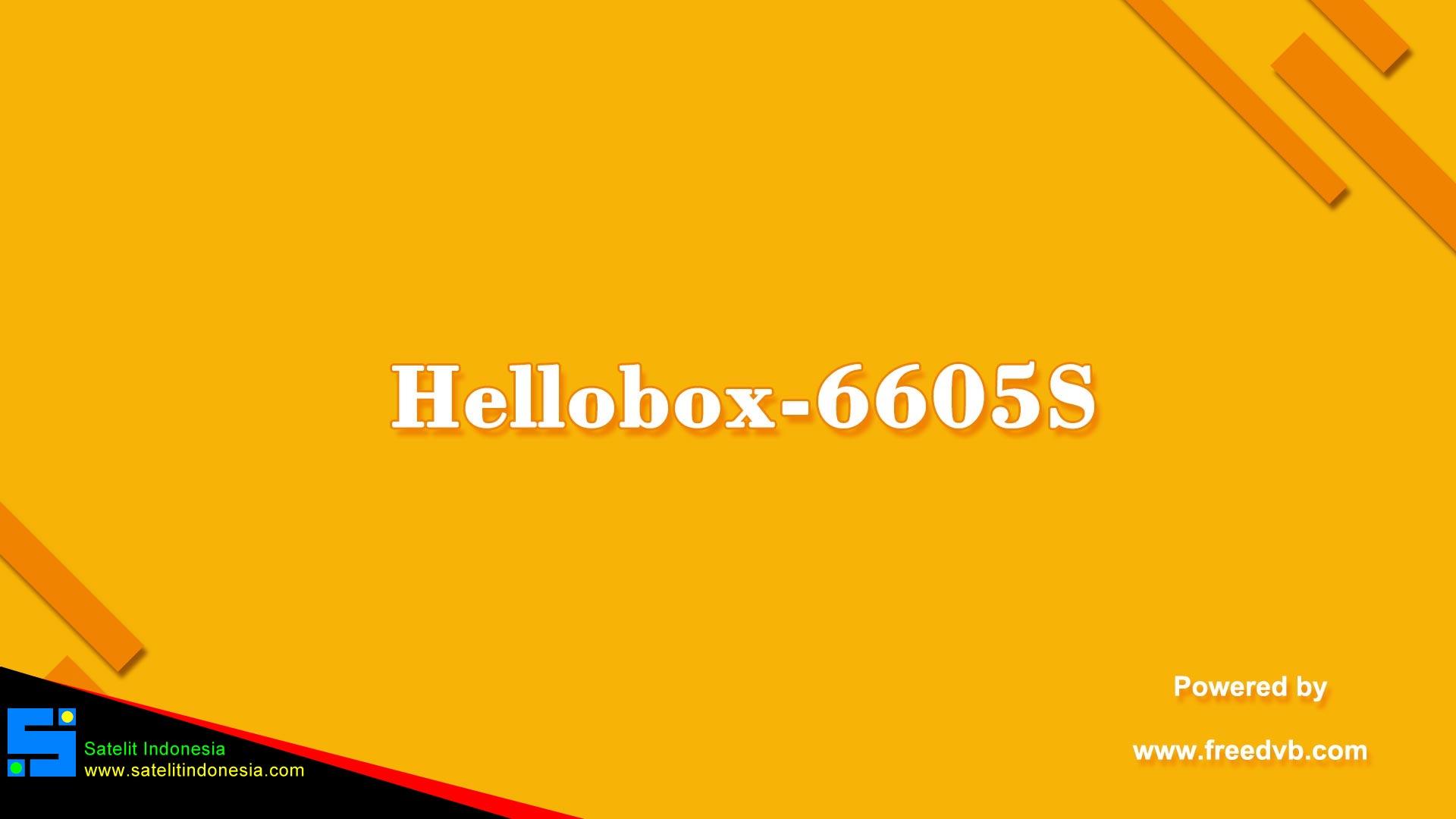 Software Hellobox GX6605S New Update Firmware Receiver