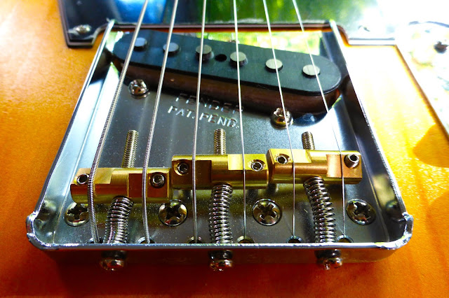 Knotty, pine, offset, Telecaster, Barncaster, Jazzcaster, Telemaster, Partscaster, Parts-O-Caster, 1991, '91, MIM, Stratocaster, neck, rosewood, maple, relied, aged, Warmoth pickguard, Tex Mex neck pickup, Fender, '62 bridge pickup, Gotoh, Wilkinson saddles, brass, compensated, NoMoonLaser body, project guitar,