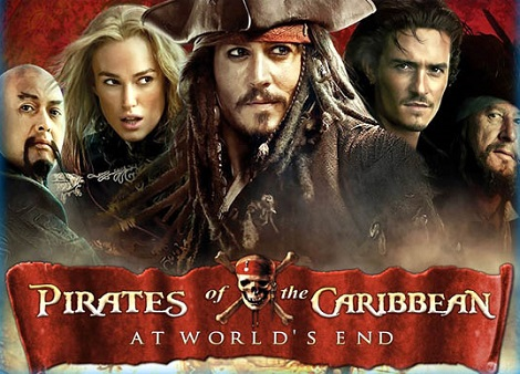 Download Pirates of the Caribbean: At World's End (2007) Dual Audio [Hindi+English] 720p + 1080p Bluray MSubs