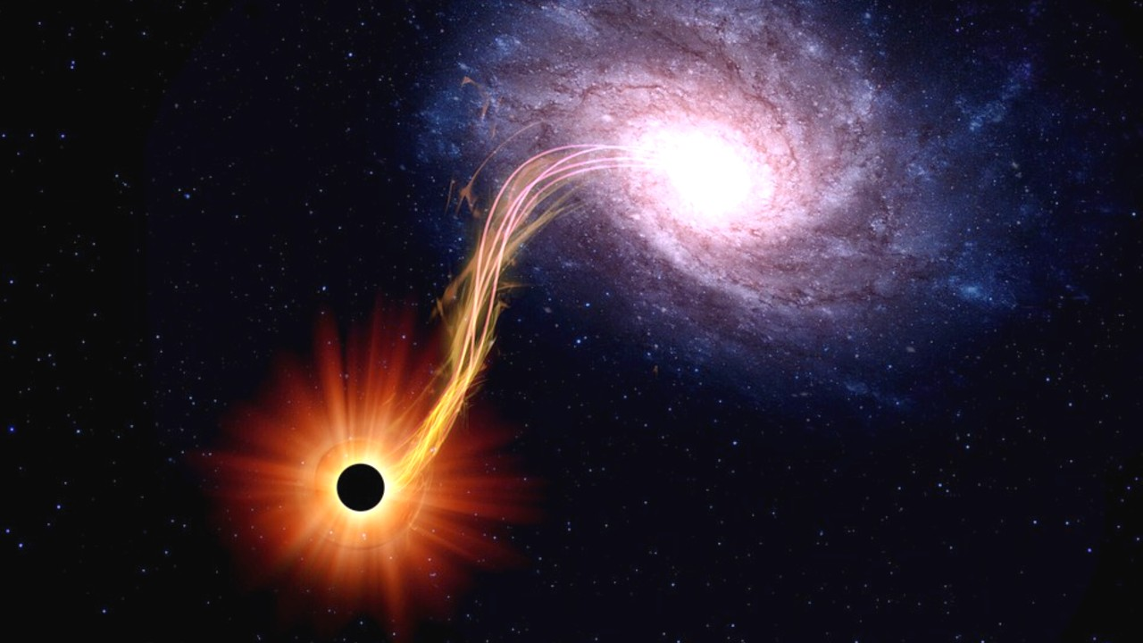 closest black hole to earth 2021