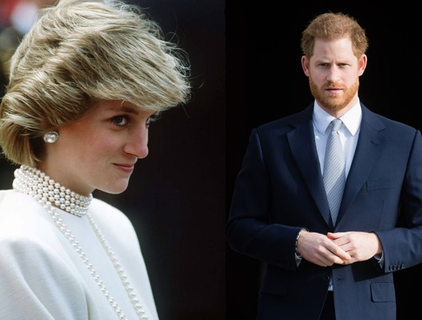 Prince Harry seemingly chokes up while discussing Princess  Diana in new video