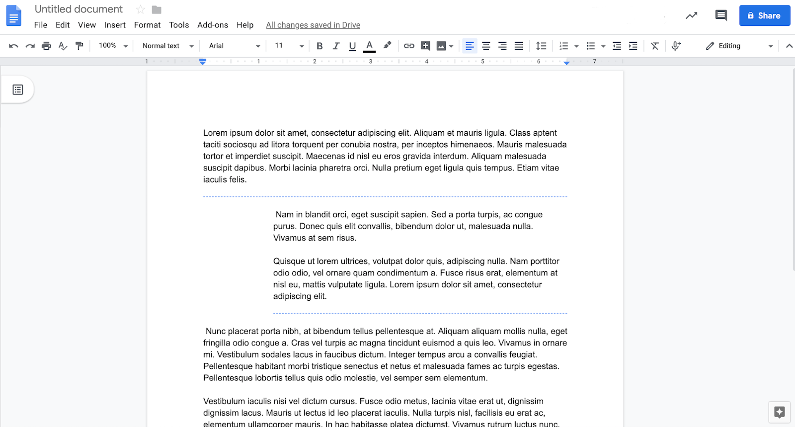 G Suite Updates Blog: Two new formatting tools available in Docs