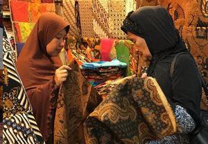batik solo di pasar klewer