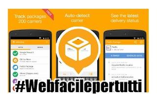 AfterShip Package Tracker - Applicazione per tracciare le spedizioni e pacchi di Poste, SDA, Bartolini e tanti altri