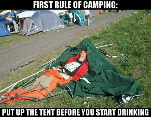 festival camping memes