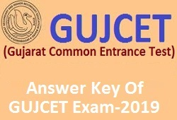 All Subjects Answer Key Of GUJCET Exam Year 2019 (Gujarati Medium)
