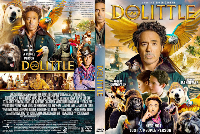 Dolittle DVD Cover