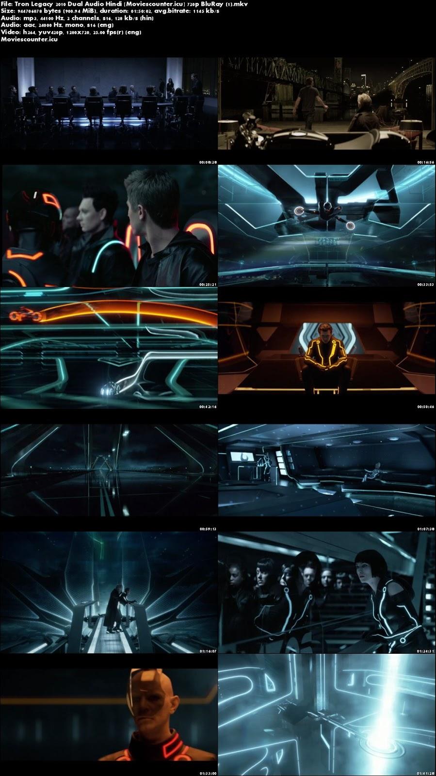 Screen Shots TRON: Legacy 2010 Dual Audio HD 720p