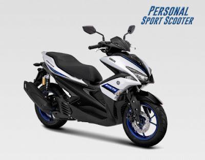 Warna Baru Yamaha Aerox S-Version, Makin Mewah dan Elegan
