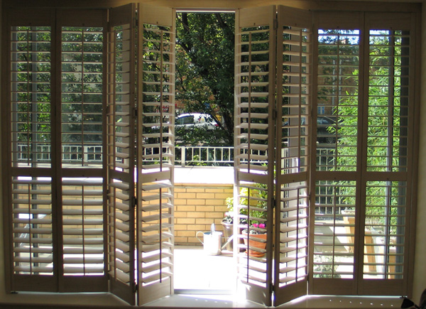 Patio Door Shutters | Patio Door Blinds