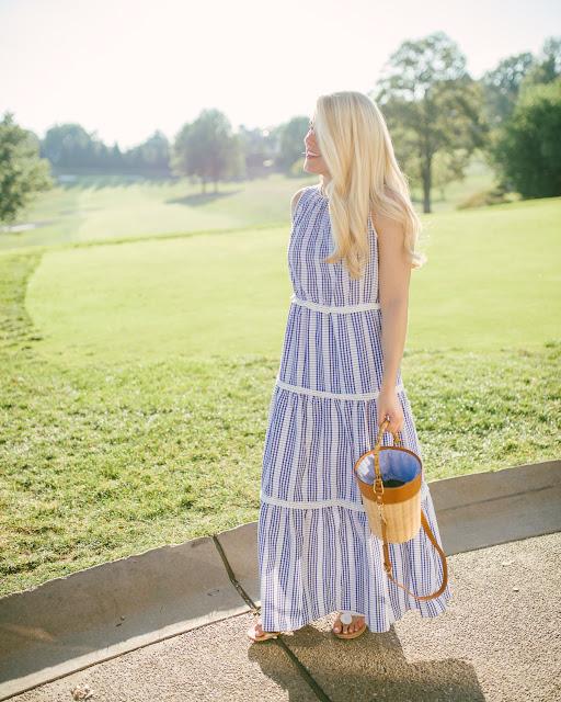 Blue Summer Sundress