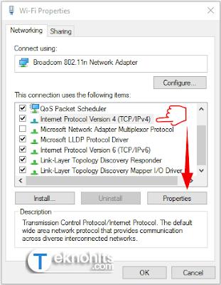 Internet Protocol Version 4 (TCP / IPv4)