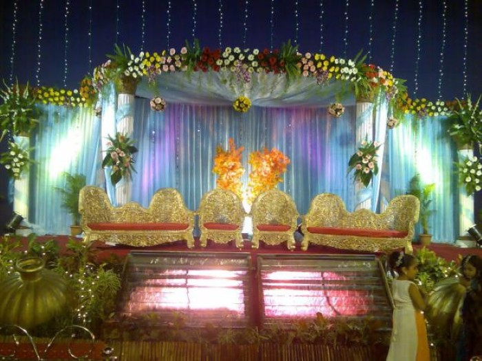 Wedding Decoration Ideas: Different Wedding Stage Decorations