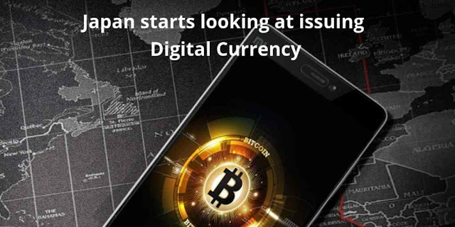 Japan starts looking at issuing Digital Currency