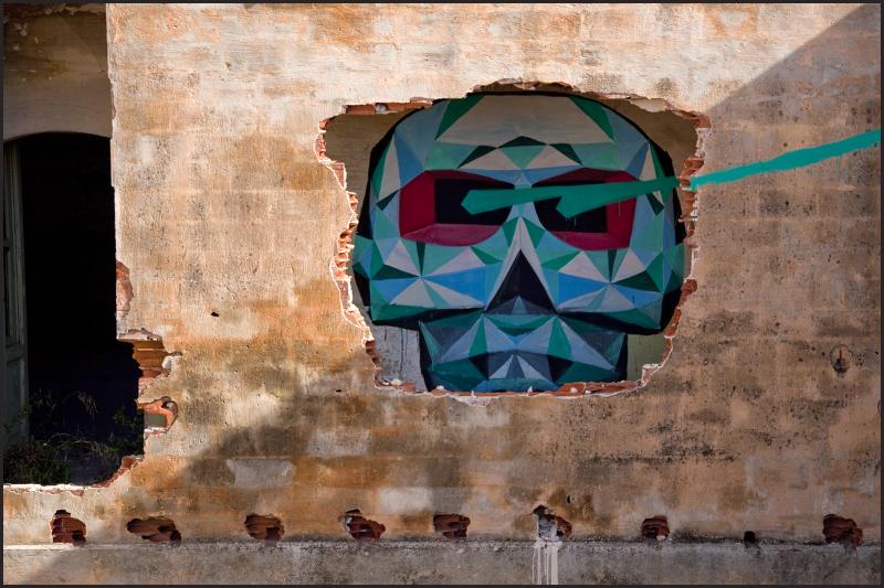 Italian Street Art by artist Blu and David Ellis