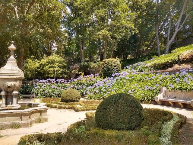 Jardines románticos Oporto
