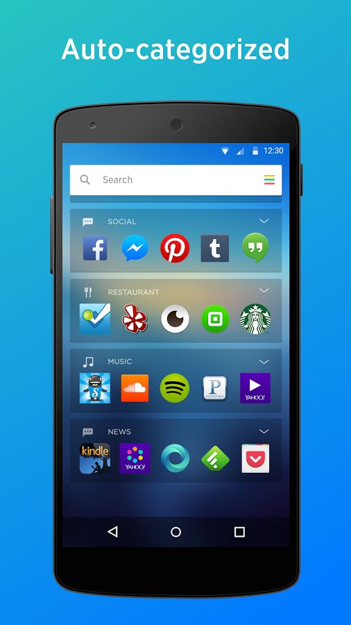 Yahoo Aviate Purchase, a Smart Launcher for Android