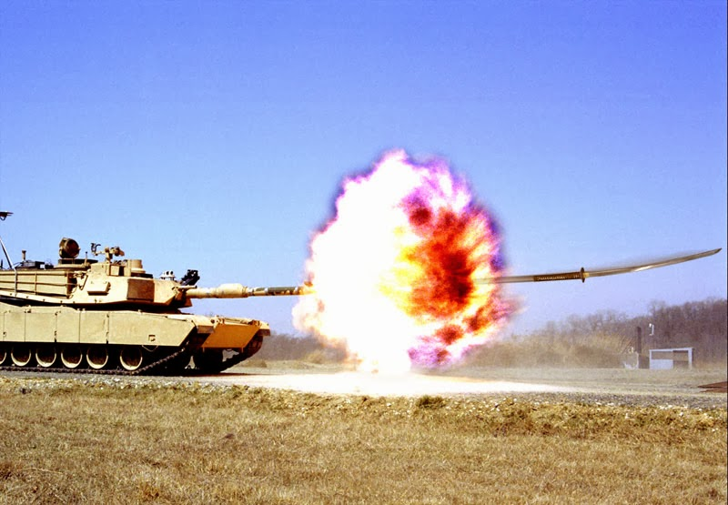 High Power Rocketry: M1 firing an Armour-Piercing