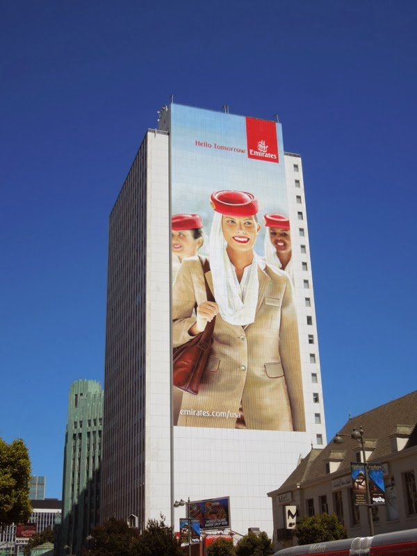 Giant Emirates Cabin Crew billboard