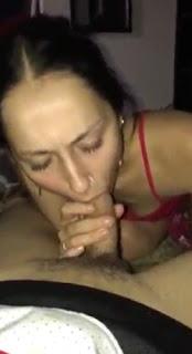 Puertorriqueña tiene sexo oral con su cuñado