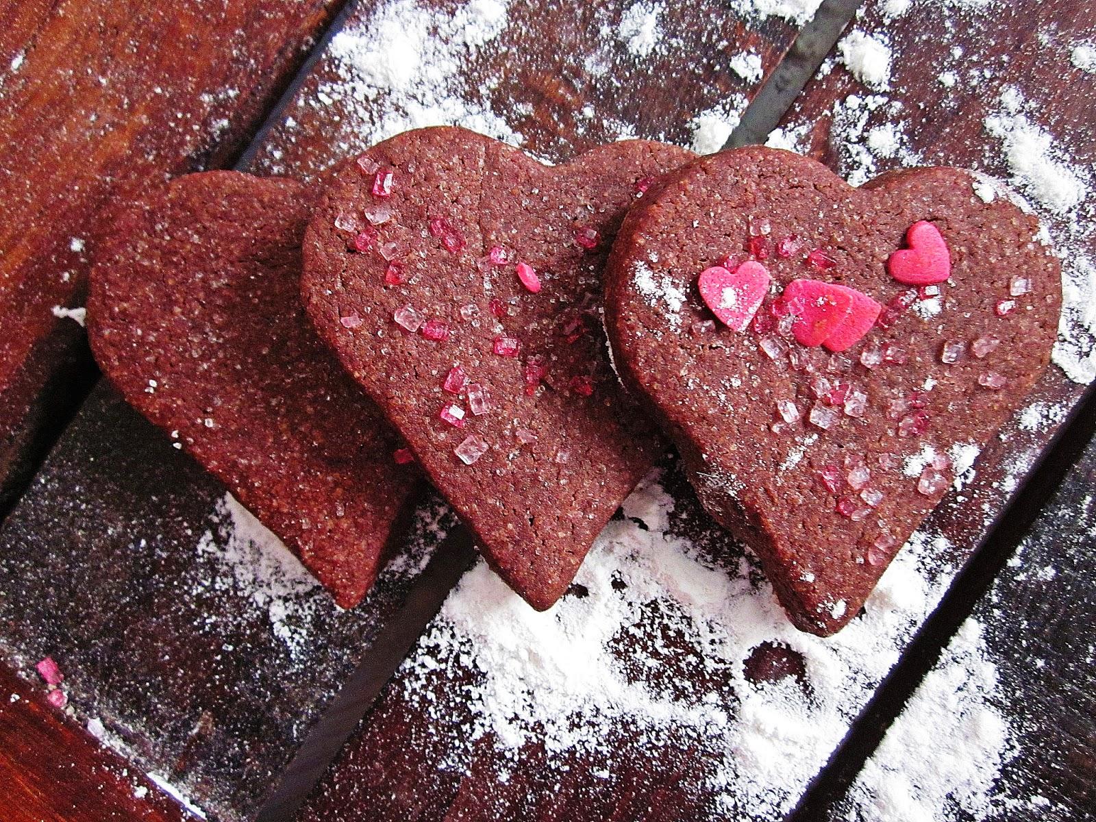 Schokoladige Sugar-Cookies mit Deko