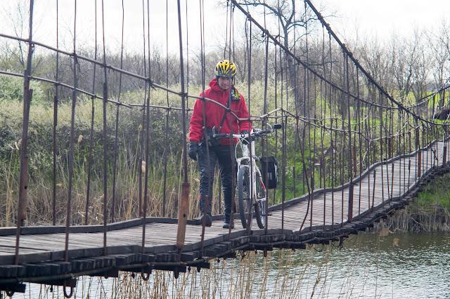 подвесной мост на межиричи